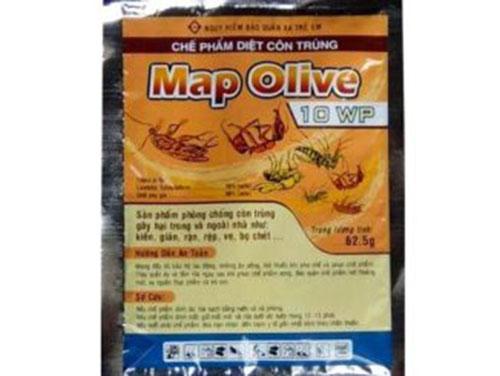 Map Olive 10WP