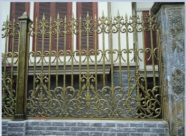 Sơn tĩnh điện hàng rào