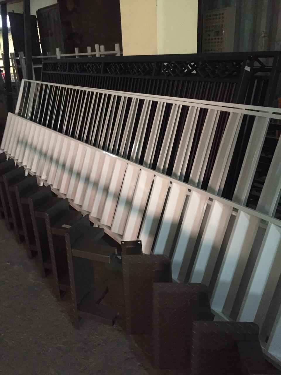 Sơn tĩnh điện hàng rào, lan can
