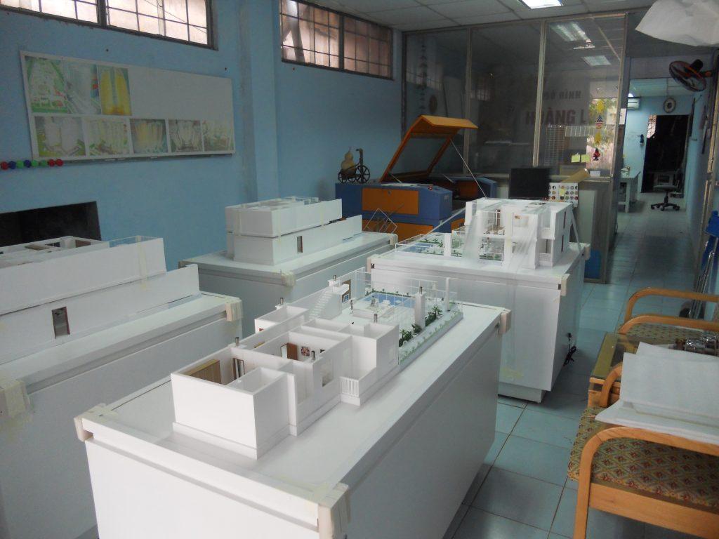Mô hình kiến trúc nội thất