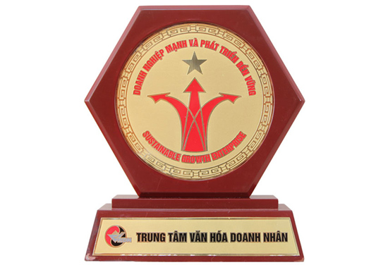 Huy chương Vàng cho Công ty Thương Mại hoạt động hiệu quả nhất