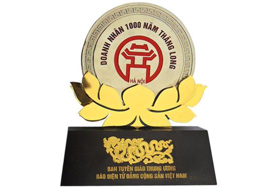 Giải thưởng cho đóng góp lễ kỷ niệm 1000 năm Thăng Long Hà Nội