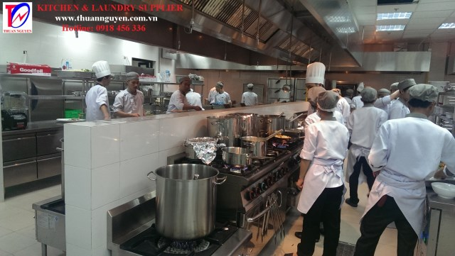 Hệ thống bếp resort 1