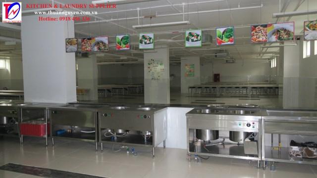 Hệ thống bếp trường học 2