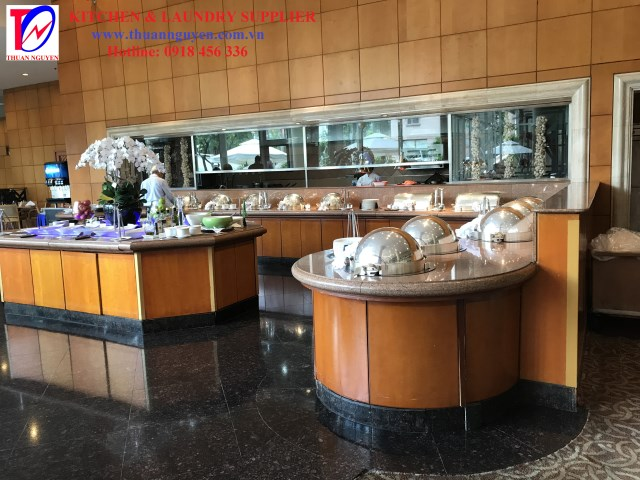 Hệ thống bếp buffet khách sạn