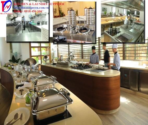 Hệ thống bếp khách sạn 2