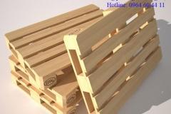 Pallet gỗ bốn chiều