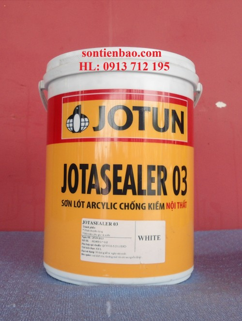 Jotasealer 03 5L (Sơn lót chống kiềm)