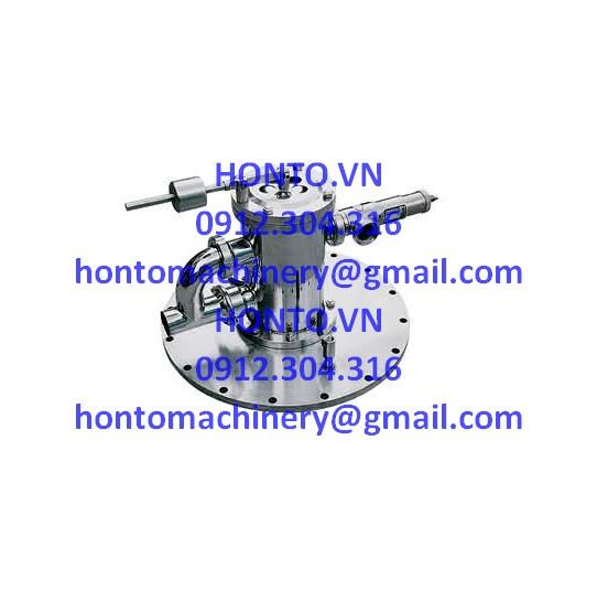 Cụm an toàn đỉnh bồn tank inox vi sinh HONTO-GAZ-1D