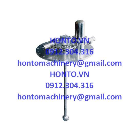Cụm an toàn đỉnh bồn tank inox vi sinh HONTO-GAZ-2D