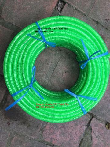 Ống dẻo lưới PVC xanh lá