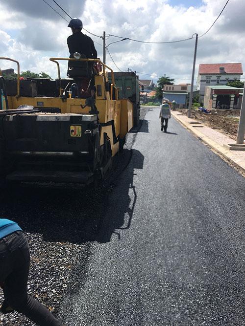Thi công xây dựng đường