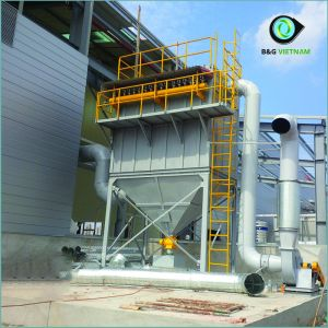 Hệ thống hút bụi ngành thép