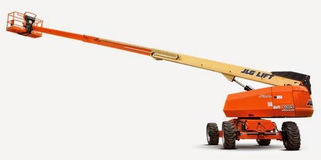 Xe Boom Lift dạng S Diezel