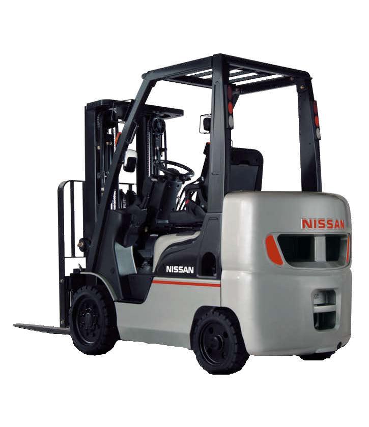 Xe nâng hàng Nissan 3,5 tấn