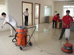 Dịch vụ vệ sinh công trình SXD