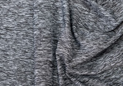 Sợi Black and white melange yarns