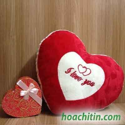 Thú nhồi bông hình trái tim