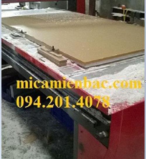 Gia công cắt CNC Mica