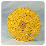 Razor-Edge Yellow Muslin Buff