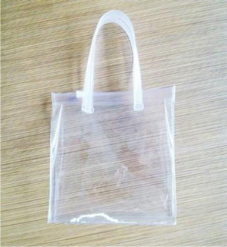 Túi nilon PE quai nhựa cứng