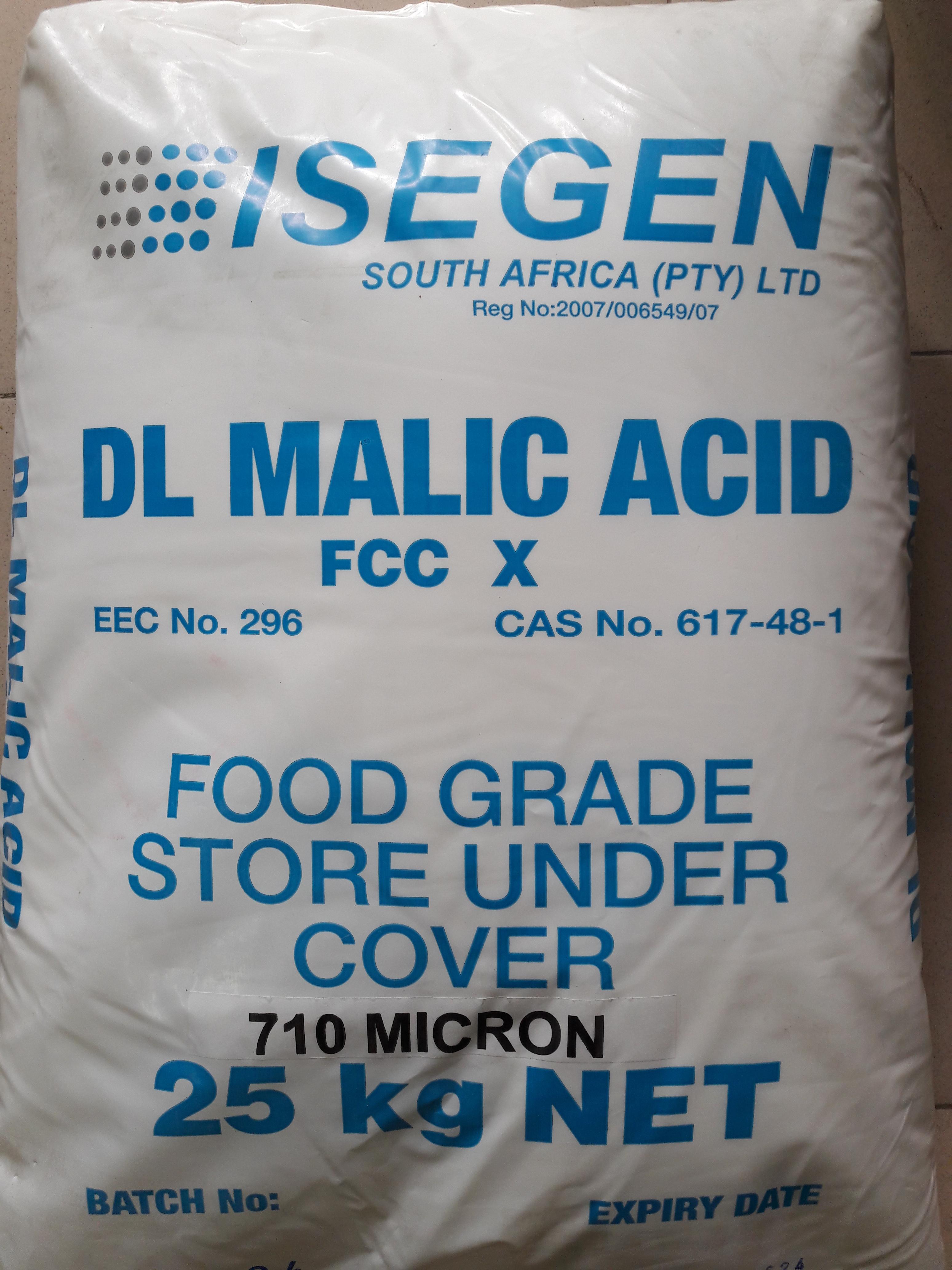 Acid malic - Nam Phi