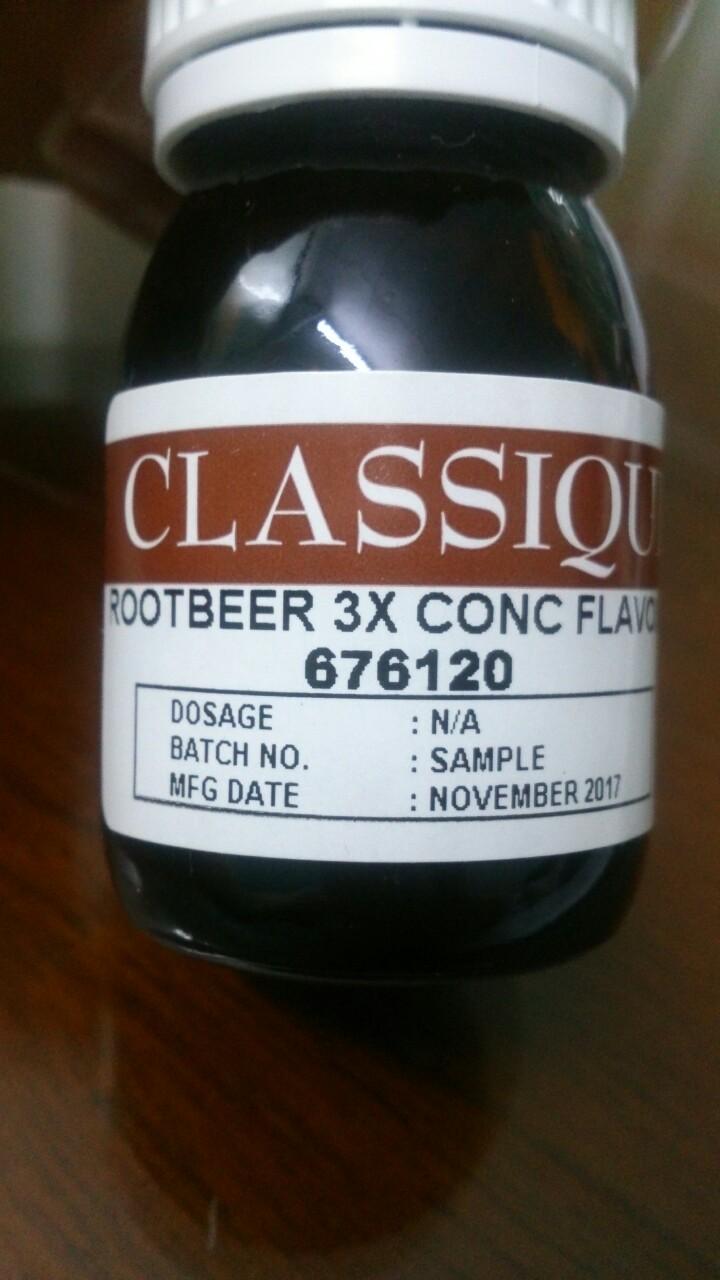 Root Berr 3X Conc Flavour