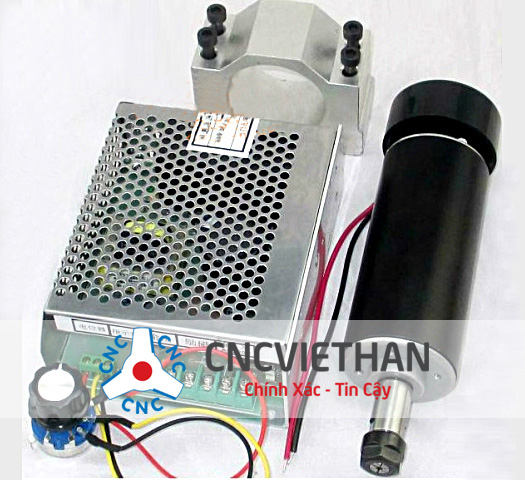 Bộ Spindle 500W ER11 12.000RPM 110VDC