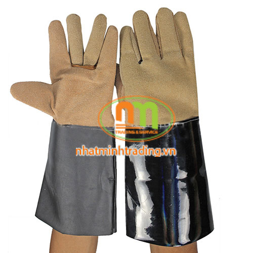 Găng tay da hàn chống cháy