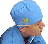 Mũ trùm đầu y tế