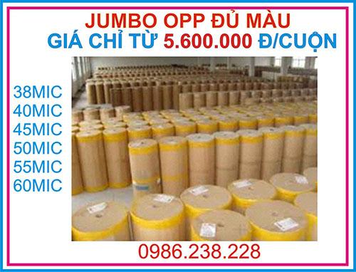 Jumbo OPP 38 Mic - 60 Mic đủ loại