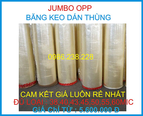 Jumbo OPP loại 38 Mic