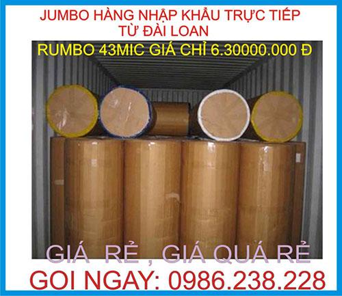 Băng keo Jumbo OPP Đài 43 MIC