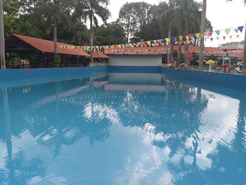 Sơn Epoxy hồ bơi