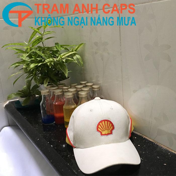 Mũ Quảng Cáo - Dầu nhớt Shell