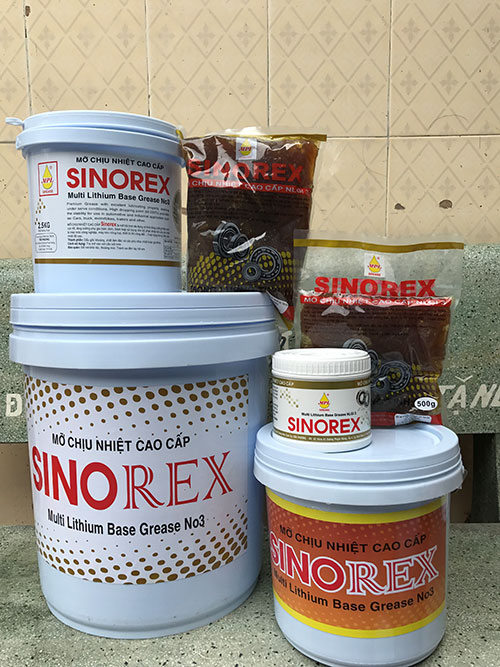 Mỡ chịu nhiệt Sinorex