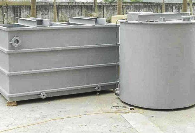 Bồn composite đựng nước cấp