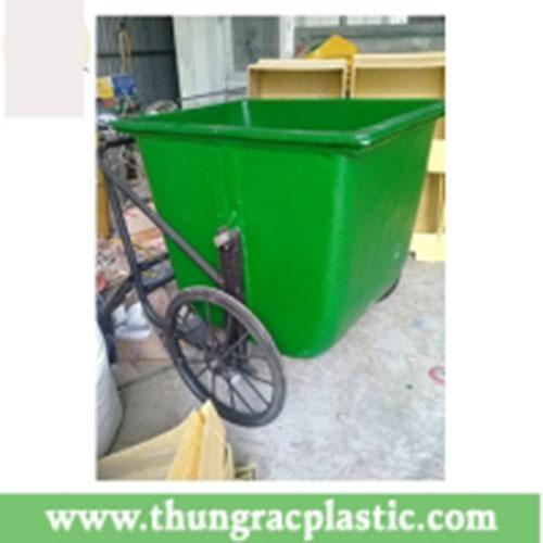 Xe gom rác composite 400L