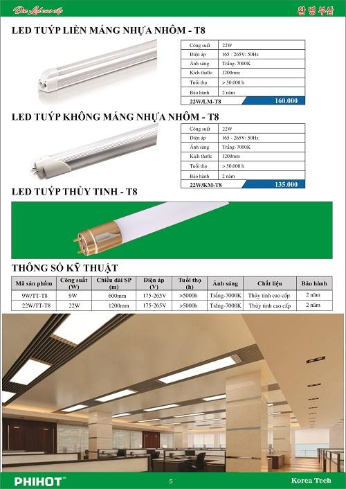 Đèn LED tuýp