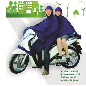 Áo mưa quà tặng