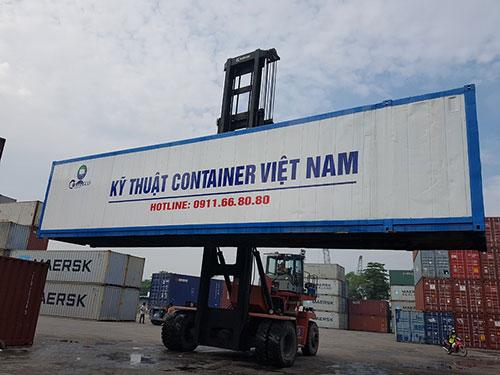 Container lạnh vận chuyển hàng hóa
