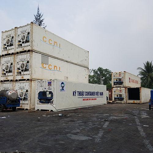 Sửa chữa, bảo trì, PTI container lạnh