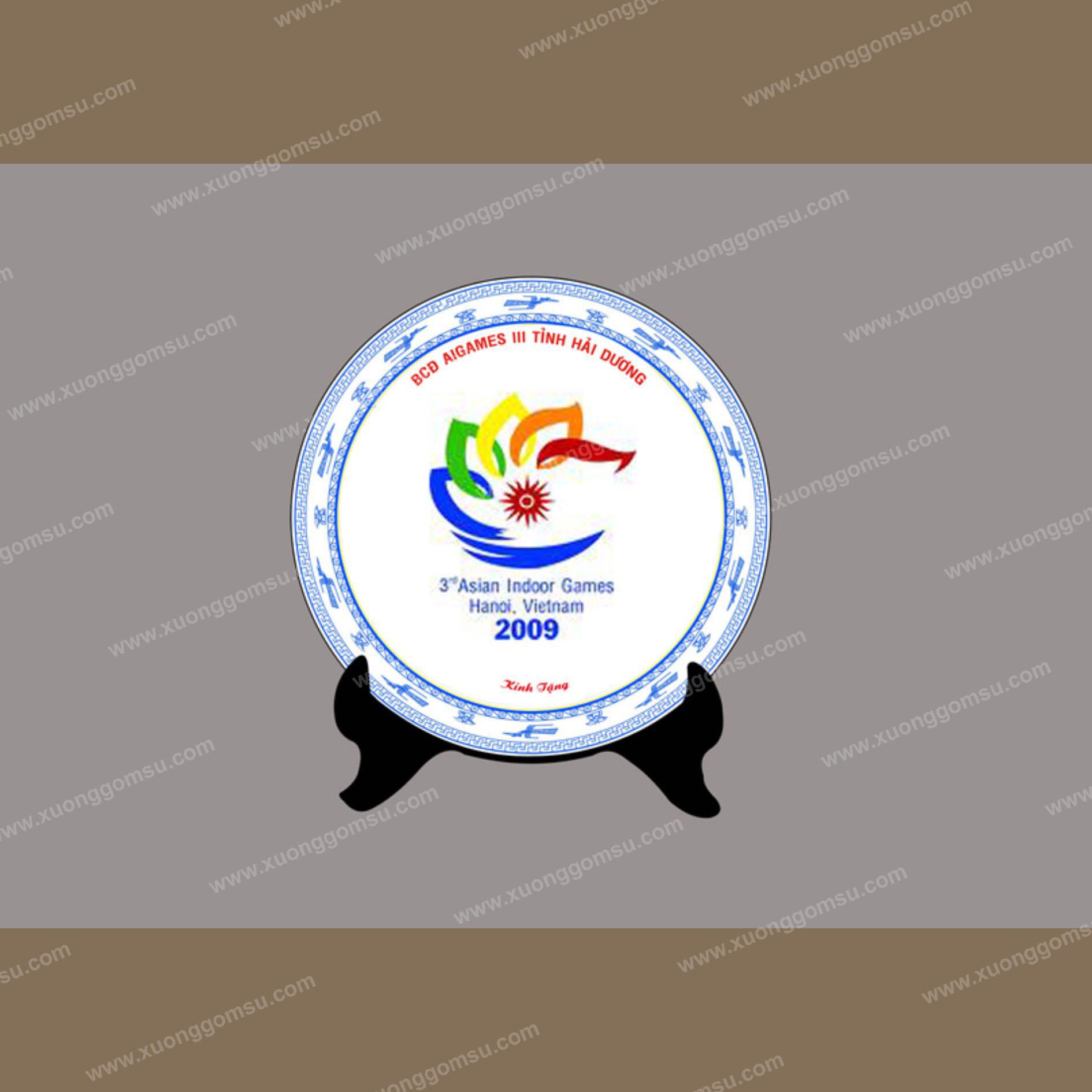 đĩa in logo