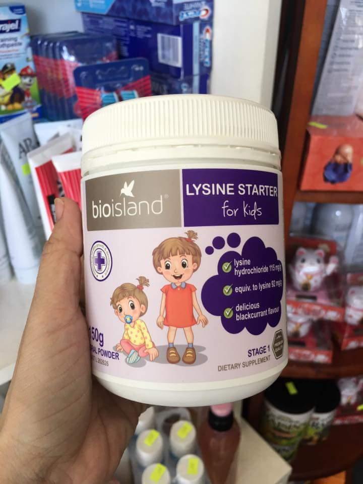 Bột Lysin tăng cân tăng chiều cao