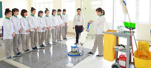 Nhân viên tạp vụ, vệ sinh