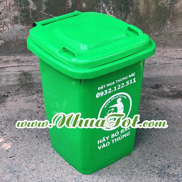 Thùng rác nhựa HDPE các loại