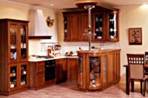 Tủ bếp gỗ gụ