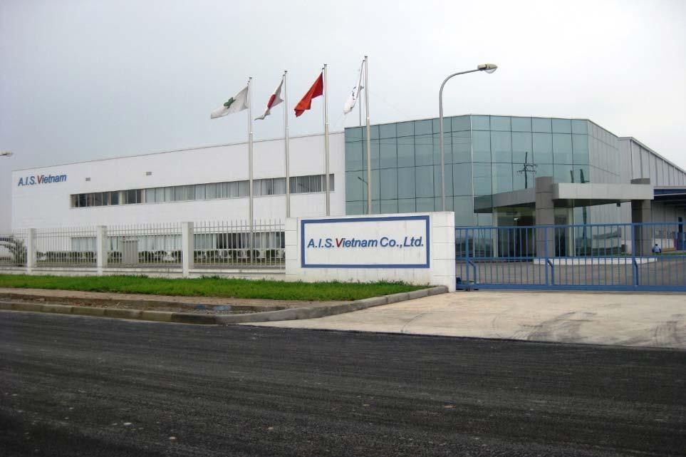Nhầ máy A.I.S KCN Visip Bắc Ninh