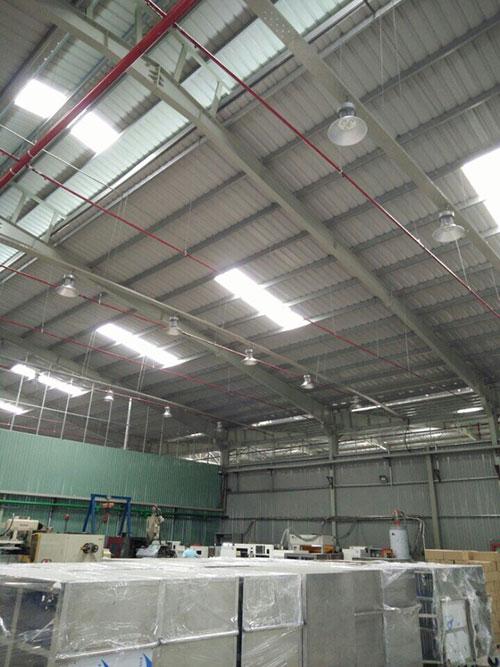 Lắp đặt hệ thống điện nhà xưởng