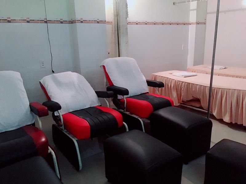 Phòng massages chân